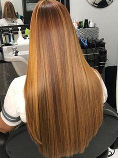 V Cut Hair, Hair Flip, Long Silky Hair, Long Brown Hair, Pretty Hairstyles, Straight Hairstyles, Longer Hair, Silk Hair, Hair Goals