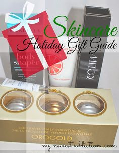 Started holiday shopping yet?  Here is my Skincare Gift Guide for those of you that want to give/get the gift of beautiful skin!