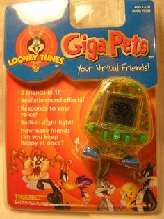 Brand New - Unopened Looney Tunes Giga Pets - Tiger Electronics #TigerElectronics