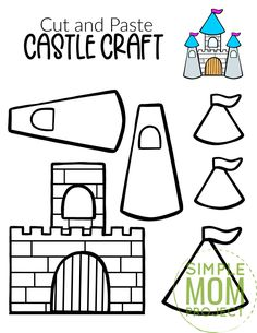 Printable Crafts, Templates Printable Free, Free Printables, Toddler Crafts, Preschool Crafts, Crafts For Kids, Princess Crafts, Princess Activities, King Craft