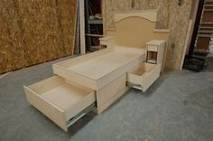 Platform Storage Beds