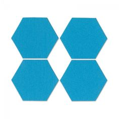"Sizzix Bigz Die - Pattern Block Multiples 1"" Sides, Hexagons 4-Up"