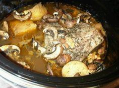Frozen Roast Beef crockpot recipe