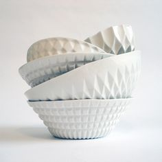 geometric bowls