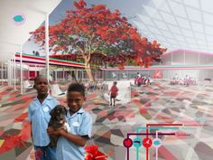 HL Architecture Wins the First Prize in the Competition for Brede School on Bonaire