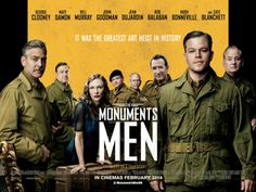 The Monuments Man...love the movie sure is a true story...