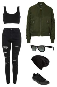 """""""Designed by @2ashleynicole3 polyvore username:ashley23nicole"""" by ashley23nicole on Polyvore featuring Topshop, adidas Originals, Ray-Ban, Free People and Converse"""