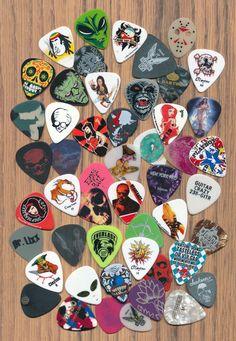 50 guitar picks  (large lot 24)