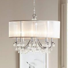 Browse all large chandelier designs - Perfect for high ceilings, master bedroom or great room. Add extra elegance and style - Large chandeliers from Lamps Plus. Entry Chandelier, Chandelier Lighting Fixtures, Dining Room Light Fixtures, Chandelier Bedroom, Chandelier Shades, Dining Room Lighting, Chandelier Ideas, Foyer Lighting, Bedroom Ceiling