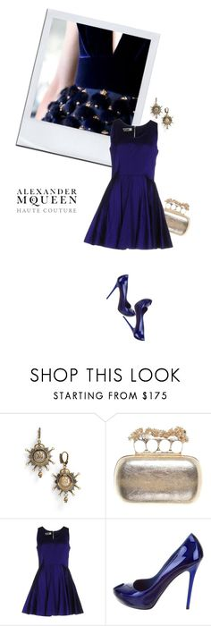 """""""Haute Couture 1.3"""" by sharmarie ❤ liked on Polyvore featuring Alexander McQueen and McQ by Alexander McQueen"""