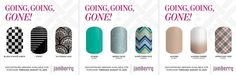 Get these designs before they are gone forever! going going gone Jamberry