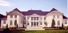 Champlatreaux House Plan: 2 story, 6970 square foot, 5 bedroom, 4 full bathrooms