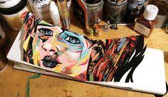 Beautiful Sketchbooks by Dominic Damien