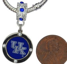 University of Kentucky Wildcats UK Charm with Connector Fits Most Large Hole Bead Bracelets by Final Touch Gifts. $14.99. University of Kentucky Wildcats UK Charm with Connector Fits Most Large Hole Bead Bracelets