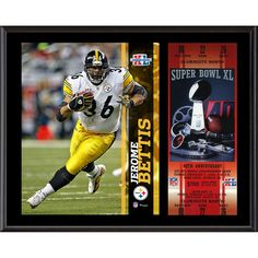 4f7968bac Jerome Bettis Pittsburgh Steelers 12