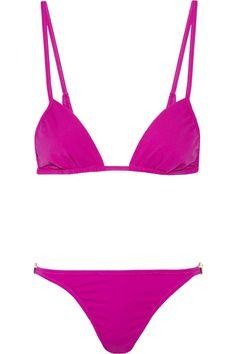 melissa odabash odabash & macdonald pat c triangle bikini, $225