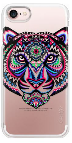 Casetify iPhone 7 Plus Case and iPhone 7 Cases. Other Cat Art iPhone Covers - Tiger by Elmiraamirova | Casetify
