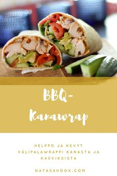helppo kanawrap Bbq, Mexican, Ethnic Recipes, Health, Food, Barbecue, Barbecue Pit, Health Care, Meals