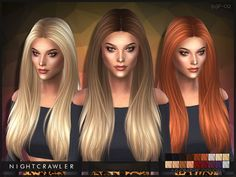 S3 conversion  Found in TSR Category 'Sims 4 Female Hairstyles'