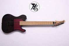 Let's try again: Hapas Guitars 7-string baritone Tele - SevenString.org
