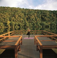 Yoga at Lake Austin Spa Resort in Austin, TX