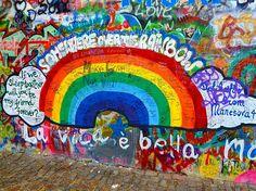 John Lennon's wall - Prague