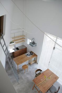 10 Urbane Loft Kitchens; Tato Architect's House in Izumi Ohmiya