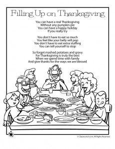 Thanksgiving Kids Poems   Woo! Jr. Kids Activities