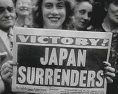 Complete end of WWII: After the US bombed Hiroshima and Nagasaki, Japan eventually surrendered to the US, finally ending WWII on September 2, 1945.