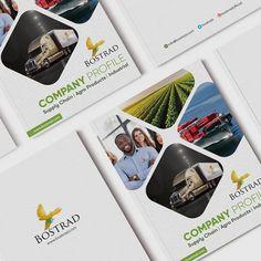 Company Profile design for Bostrad Limited - An agro product supplier. Company Profile Design, Supply Chain, Design Agency