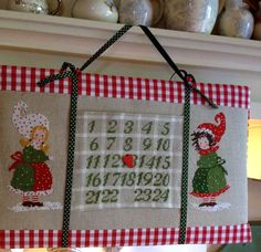 Day by day From Lilli Violette - Cross Stitch Charts - Embroidery - Casa Cenina