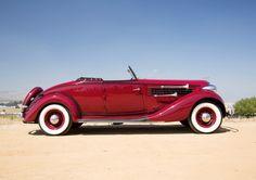 1935 Auburn 851 Supercharged Dual Ratio Cabriolet