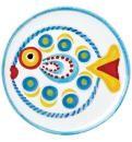 VIETRI Fish-Fish Round Platter