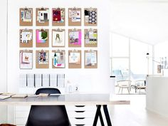 11 Simple and Unique Ways to Display Art at Home via @MyDomaineAU