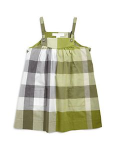 Burberry - Toddler's Exploded Check Dress