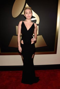 2015 Grammys red carpet report card - Shine from Yahoo Canada..M. Cyrus