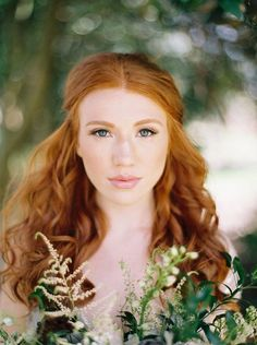 A Fresh, Natural Bridal Look | Elegant and Organic Bridal Inspiration | Matoli Keely Photography!