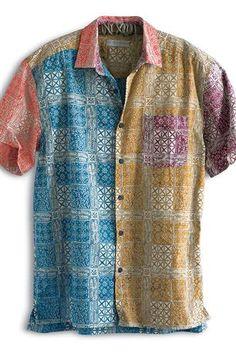 Kaleidoscope-Batik-Print-Shirt