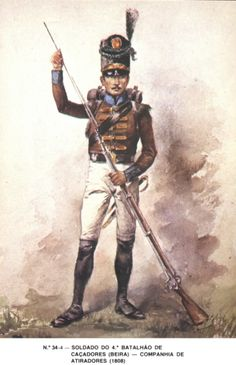 Fuciliere del 4 btg. cacciatori Colonial India, Empire, Napoleonic Wars, Military History, 18th Century, Army, Warriors, Pictures, British