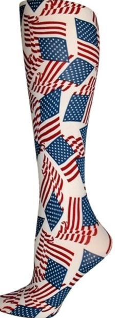 Think Medical Women/'s 12-14 mmHg Compression FloralTrouser Sock size 9-11