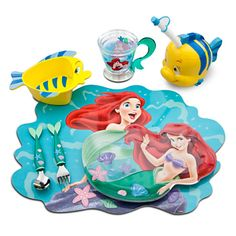 The Little Mermaid Ariel Flatware Set -- 2-Pc. | Dinnerware | Disney Store