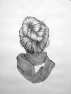 Reversed Portraits Series by Nettie Wakefield