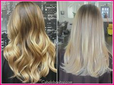 Here's Every Last Bit of Balayage Blonde Hair Color Inspiration You Need. balayage is a freehand painting technique, usually focusing on the top layer of hair, resulting in a more natural and dimensional approach to highlighting. Silver Ombre Hair, Ombre Blond, Dark Blonde Hair, Hair Color Dark, Ombre Hair Color, Hair Color Balayage, Balayage Ombre, Blonde Balayage Highlights, Balayage Caramel Blonde