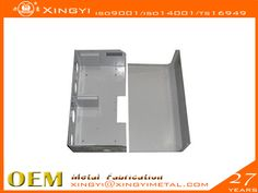 www.chinametalmanufacturer.com. fabrication process Material:Aluminium, steel, stainless steel, copper, etc•Surface treatment:Galvanized, phosphating, sandblasting, electrophoresis, spraying, paint spraying, etc•processing range: 0.5 mm to 20 mm thick•The Biggest molding size:1200*1200mm•The largest bending size: 4000 mm•The biggest plastic spraying size: 3000 * 1500 mm•  Email:xingyi@xingyimetal.com