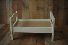 White bed- nb & sitter prop