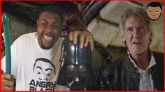 BLACK MAN LOVES! STAR WARS FORCE AWAKENS TRAILER 2 @SIGGAS