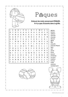 One-click print document Easter Activities, Activities For Kids, French Worksheets, Core French, French Classroom, French Resources, French Teacher, Preschool Worksheets, Home Schooling