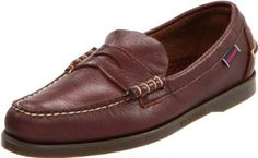 Sebago Men's Dolphin Loafer Sebago. $45.00. A slip on loafer style with genuine moccasin construction. Men's Sebago, Dolphin. Slip resistant and non-marking outsole. leather. Rubber sole. Premium full grain leather upper with a 3/4 leather sockliner