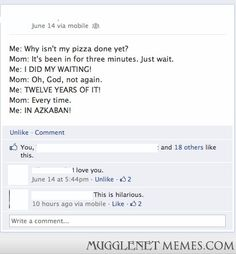 Azkaban pizza - - Harry Potter Memes and Funny Pics - MuggleNet Memes