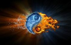 yin yang fire and ice - Google Search